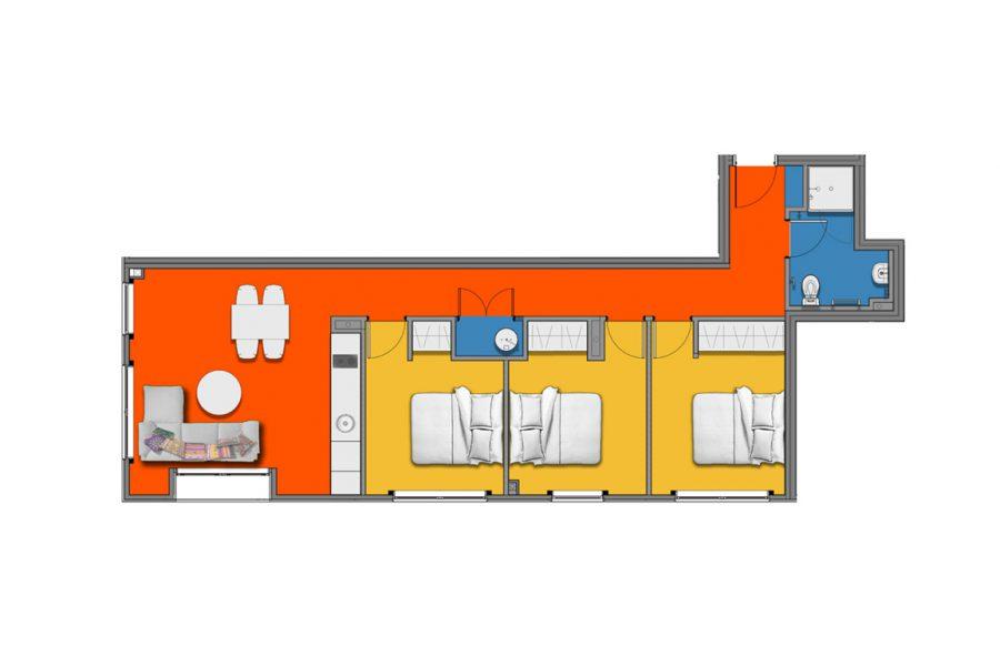 Loft Premium 3 Bedroom